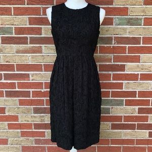 🌷 NWT T by Talbots Sleeveless Textured Midi Dress